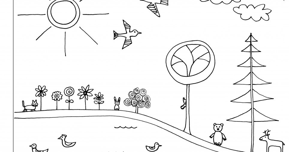 early play templates: Earth day: more coloring in sheets