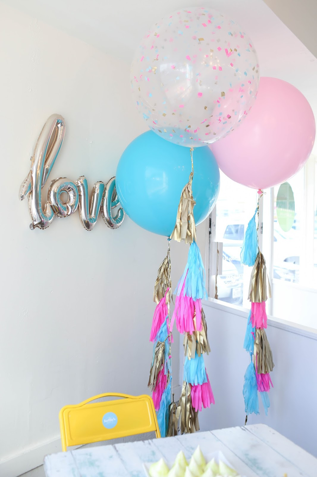 21st birthday party decoration