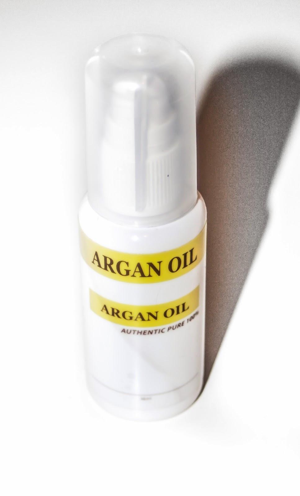 argan oil, hair