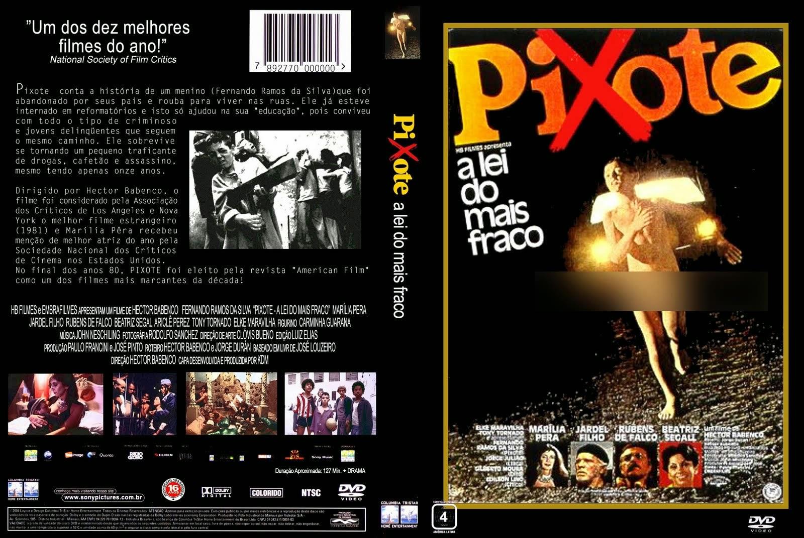 Пишоте: Закон самого слабого / Pixote: A Lei do Mais Fraco. 1981.