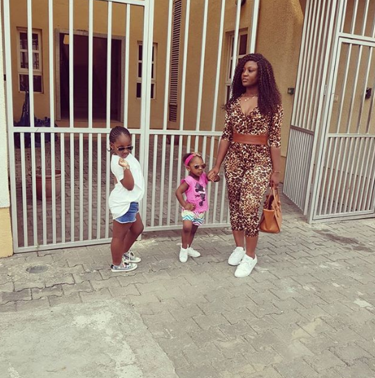 Timaya's Baby Mama And Their Daughters Step Out In Style (Photos)