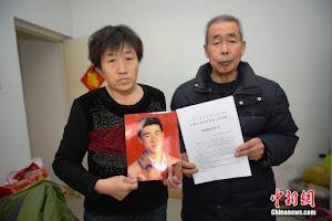 Giustiziato per sbaglio, assolto dopo 21 anni: 2,68 milioni di yuan ai genitori