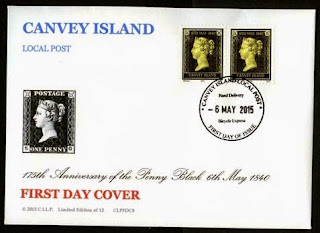 CILP 175th Anniversary of the 'Penny Black' FDC