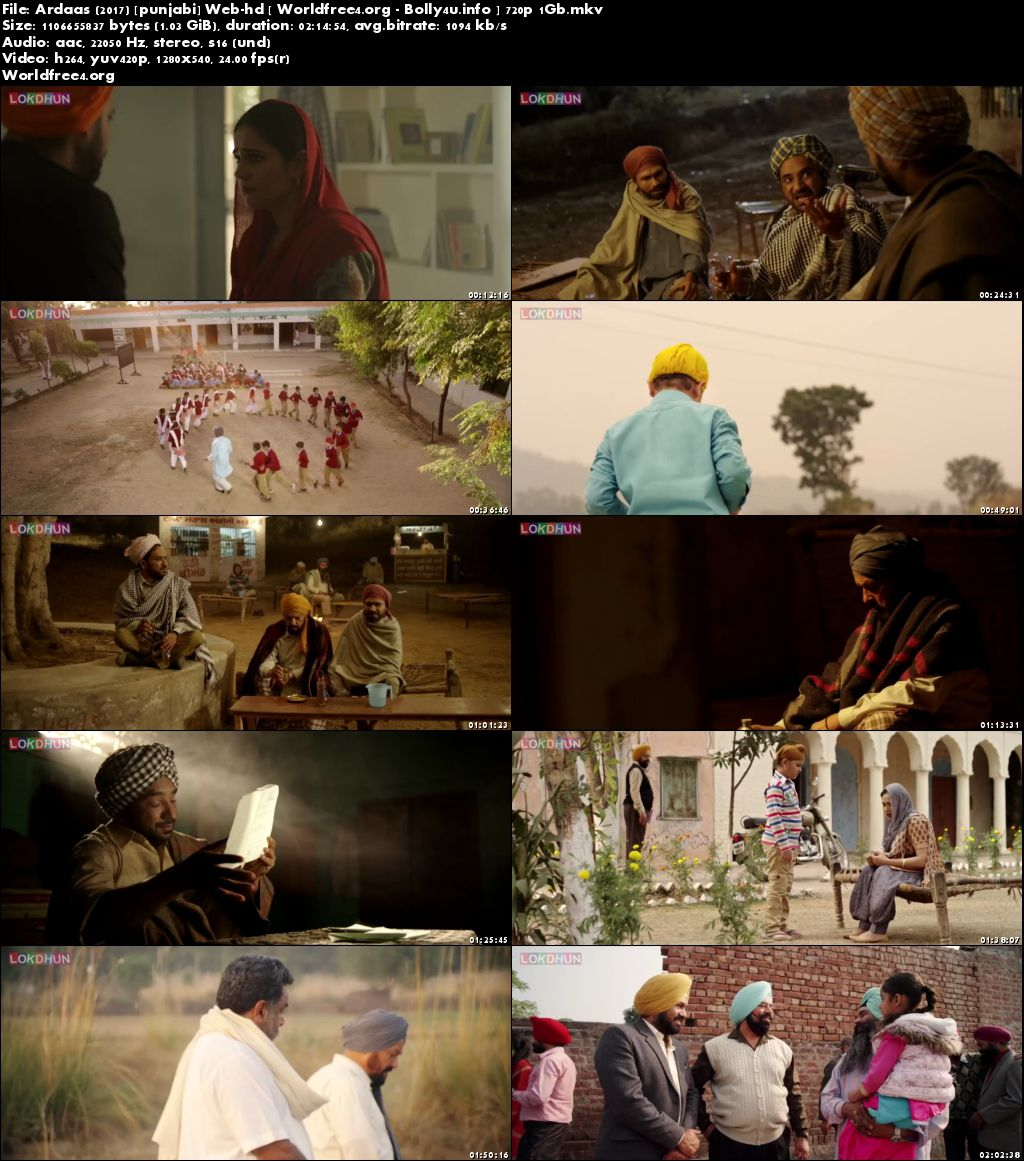 Screen Shoots Of Watch Online Ardaas 2016►Two Thousand Sixteen►Two Thousand Sixteen WEBHD 1Gb Punjabi Movie (720p►1280 x 720 pixels) free Download Worldfree4.org