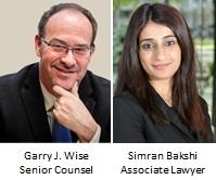 Garry Wise amd Simran Bakshi