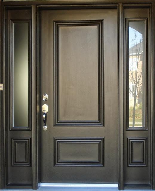 pintu rumah minimalis 1 pintu