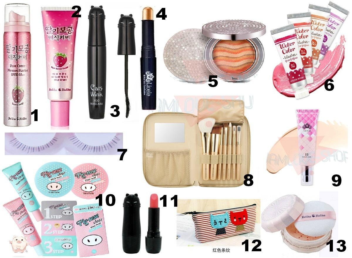 Neko To No Tanoshii Beauty Ebay Wishlist Korean Make Up