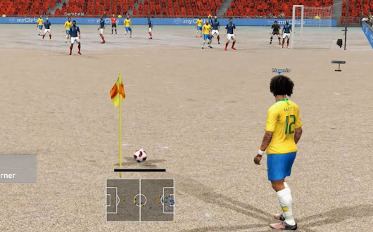 PES 2013 Beach turf Mod (Old Trafford) by Micano4u