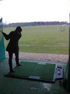 Photo of Emily Gottfried using the Driving Range at Tea Green Golf Club near Luton