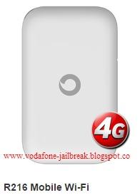 vodafone mobile wifi r206 unlock code free