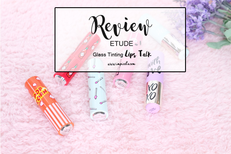 Etude Glass Tinting Lips Talk