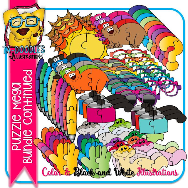 https://www.teacherspayteachers.com/Product/Puzzle-Clipart-MEGA-BUNDLE-Puzzles-Commercial-Use-2583066