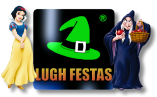 Logo Lugh Festas da Branca de Neve