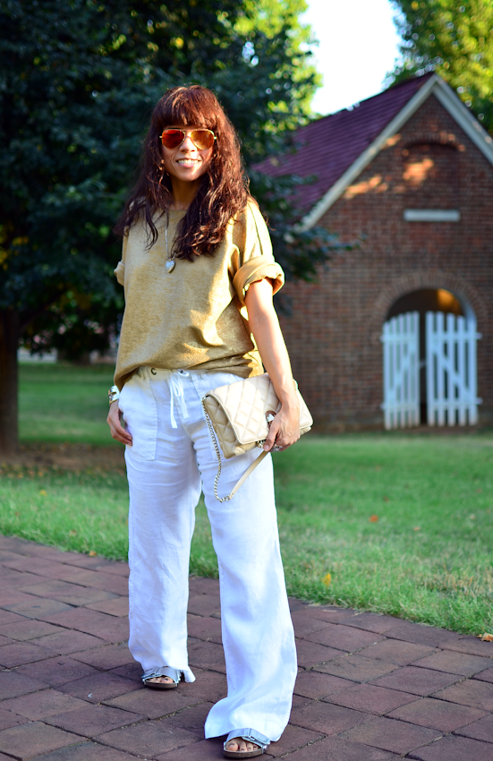 How to style linen pants