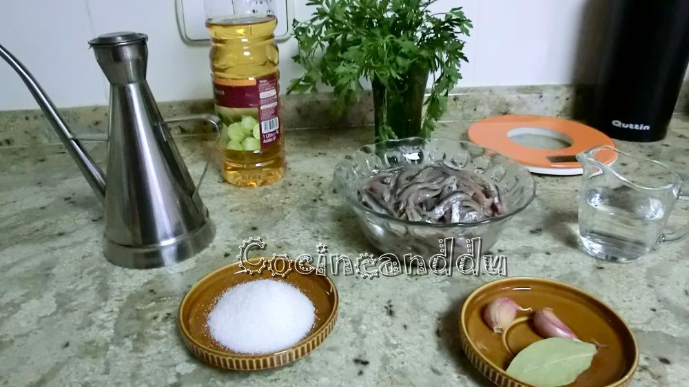 Cocineanddu boquerones en vinagre caseros - Calorias boquerones en vinagre ...