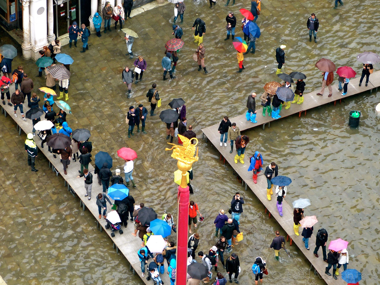 More than 70% of Venice Flooded, VIDEO+PHOTOS | This is Italy |Venice Flooding October 2012