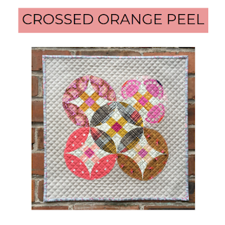 Crossed Orange Peel Quilt