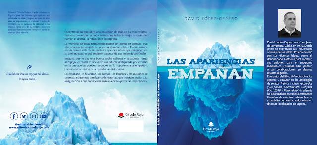 Cubierta del libro de minirrelatos del autor David López-Cepero