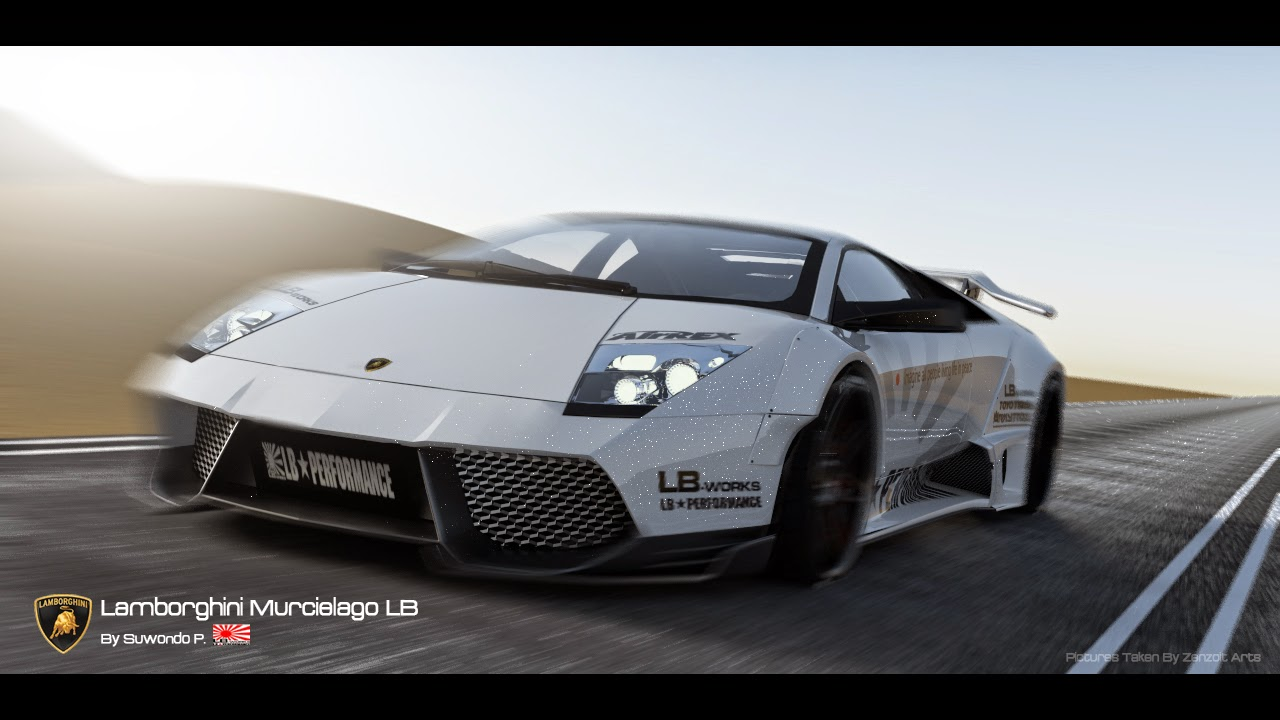 Zenzoit Arts Lamborghini Murcielago Liberty Walk Edition For Sale