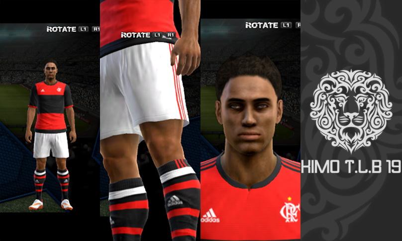 PES 2013 CR Flamengo Home Kit 2017-18 By KIMO T.L.B 19