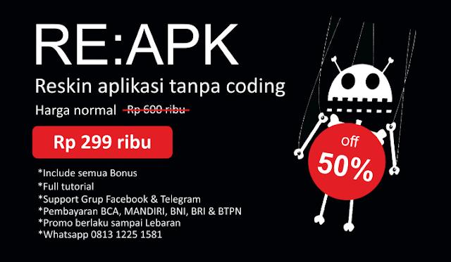 Buat Aplikasi Tanpa Perlu Coding
