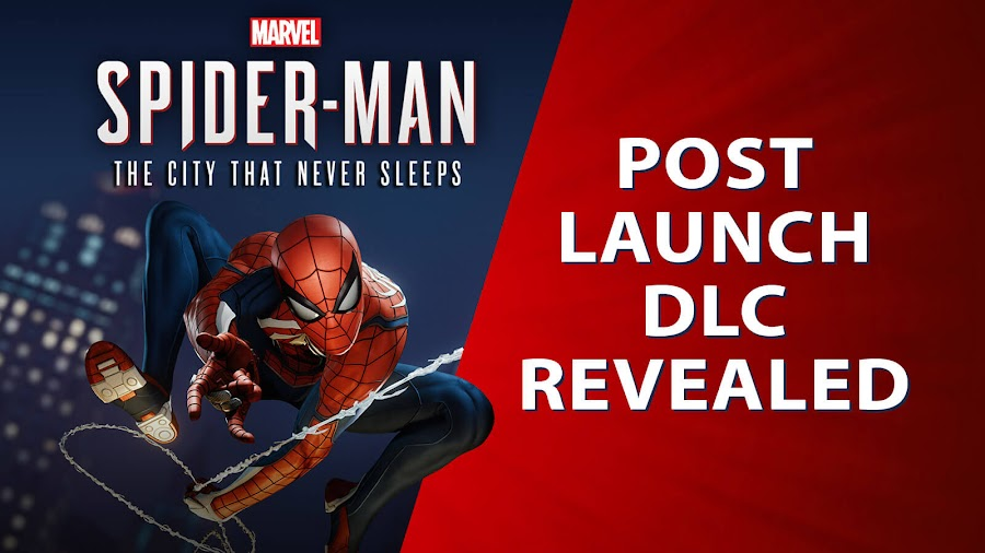 marvel's spider man ps4 dlc