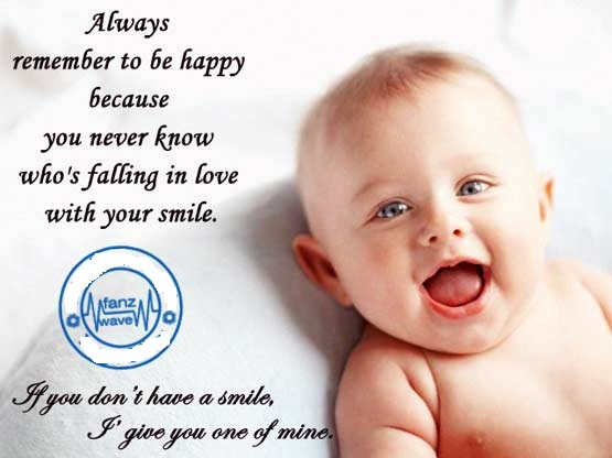Cute Love Quotes For Kids: Quotes On Images: Smile On Images- Happiness Quotes Collection