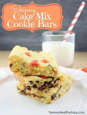 Healthier Cake Mix Cookies