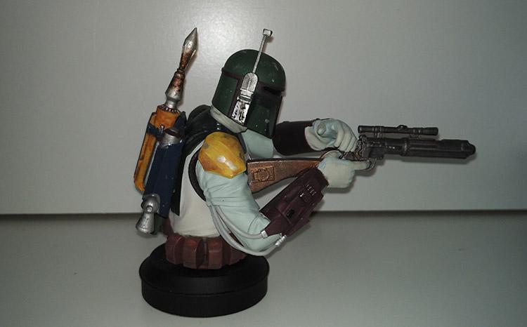 Boba Fett colección de Bustos Star Wars de Planeta DeAgostini