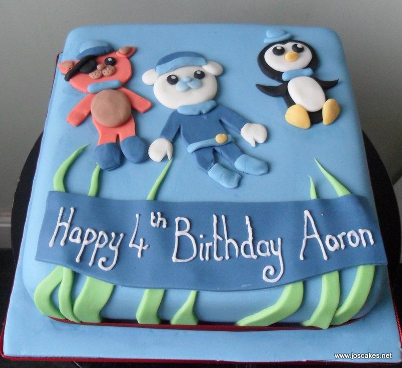 Jos Cakes Aarons Octonauts Birthday Cake