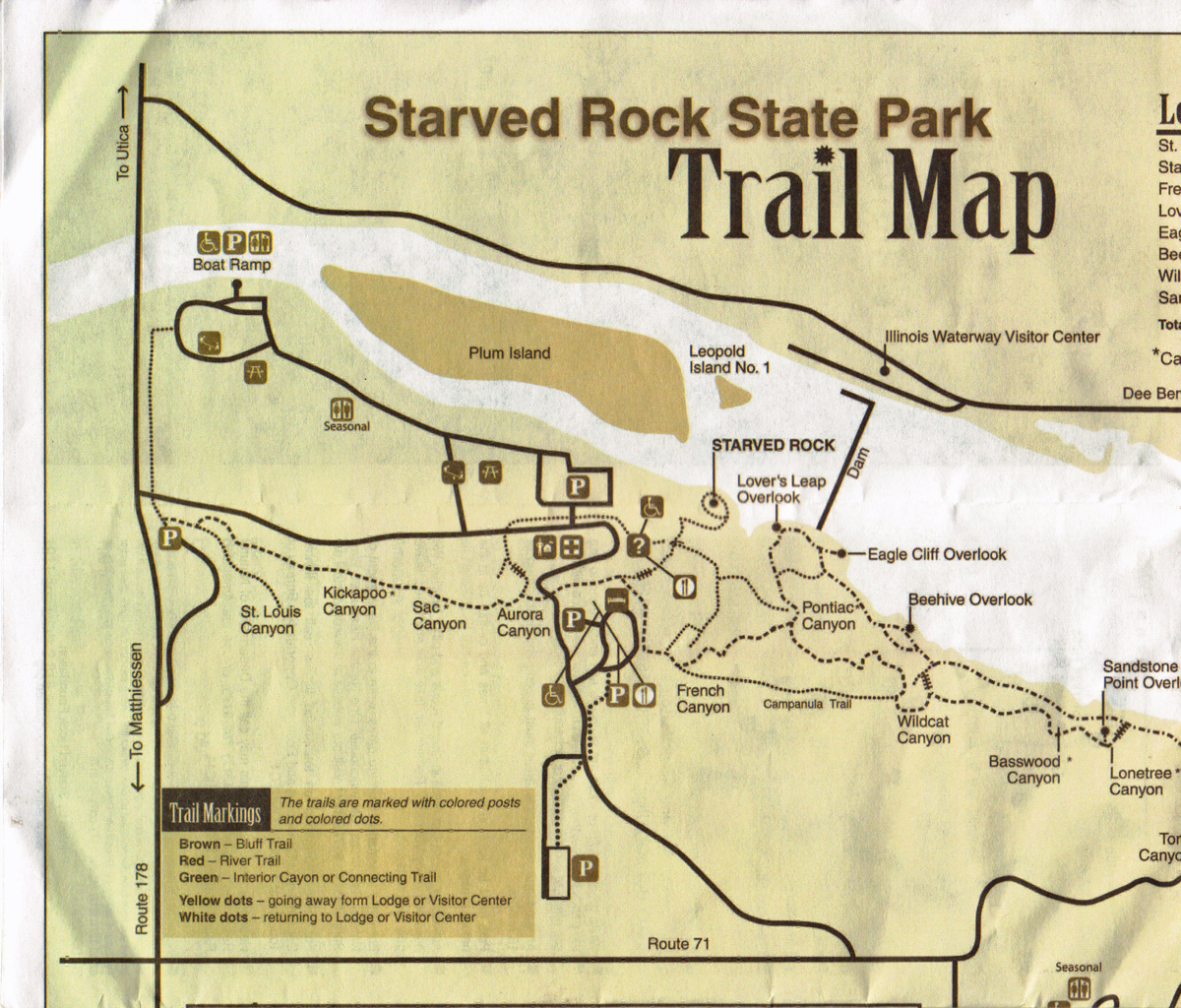 Travels of a Rambling Van: Starved Rock State Park