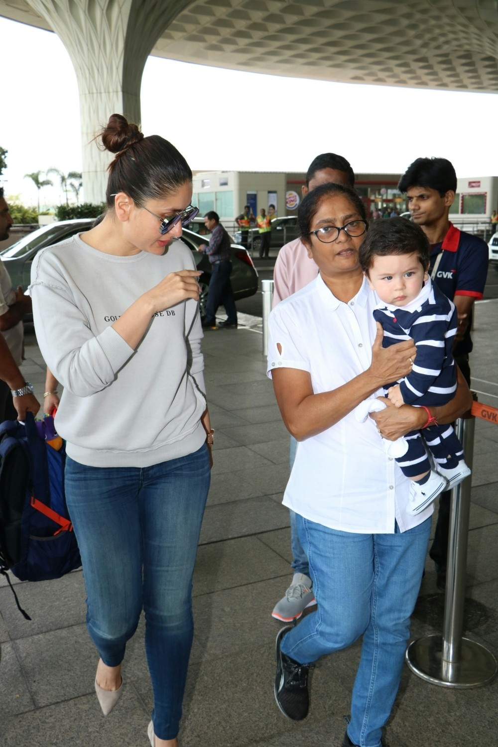 Kareena Kapoor Khan and Taimur Spotted at Airport