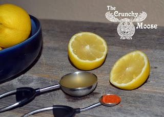 Morning Lemon Detox with Lemons, Apple Cider Vinegar