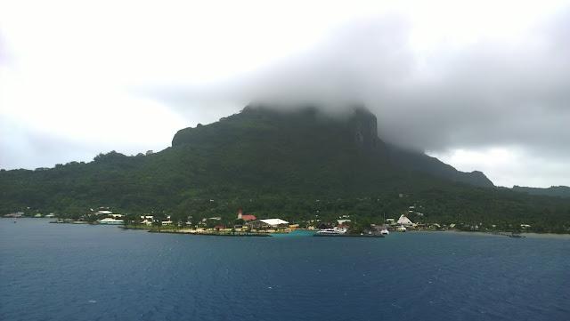 Bora Bora risteily sää