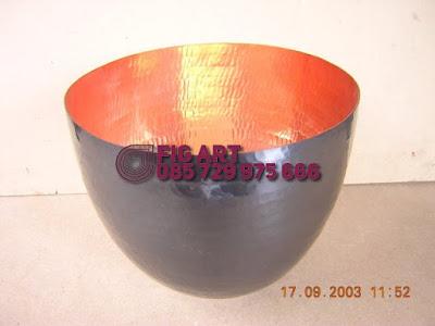 Mangkuk Tembaga - Kerajinan Tembaga Kuningan Bowl