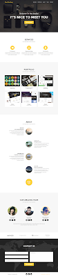 Agency Single Page Bootstrap Free Template