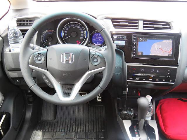 Honda Fit 2018 EXL - interior - painel