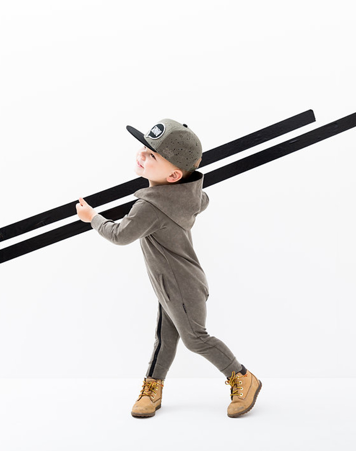 Lucky No 7 Autumn 2016 kidswear collection - Go green
