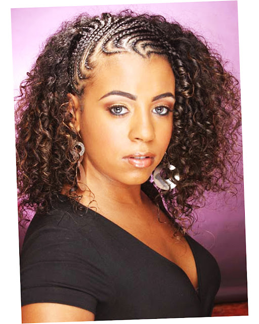 Picture of Elegant African American Braided Hairstyles 2016 New