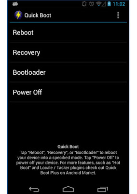 Quick Boot Reboot App