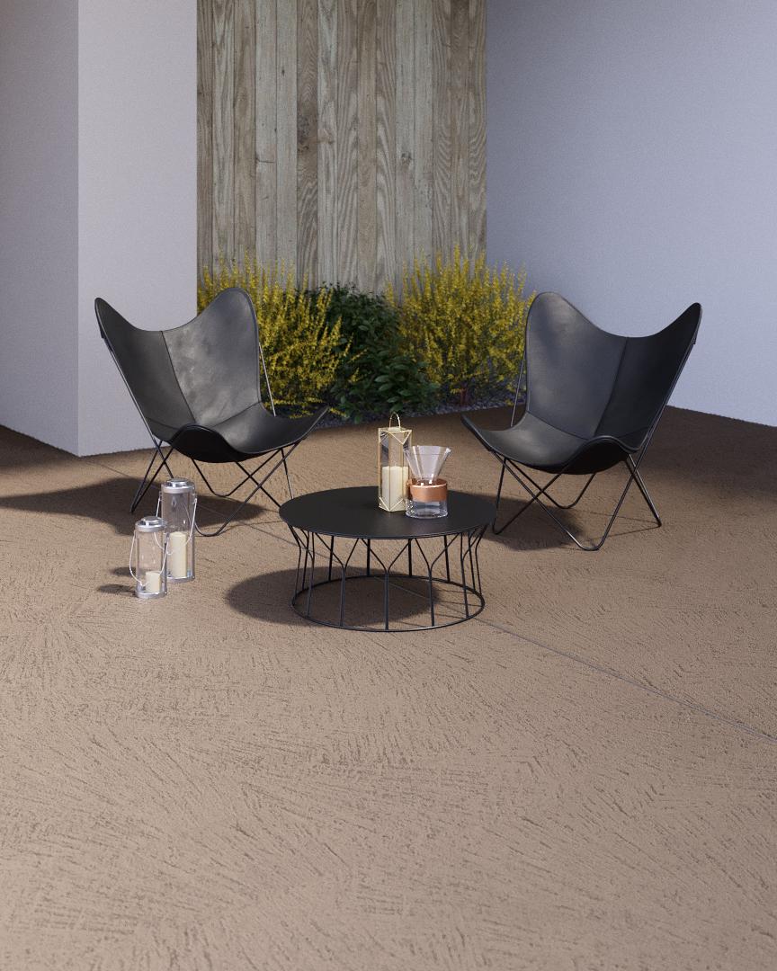 Wohndesign Unterreut 7: Wand-wohndesign-beton-cire