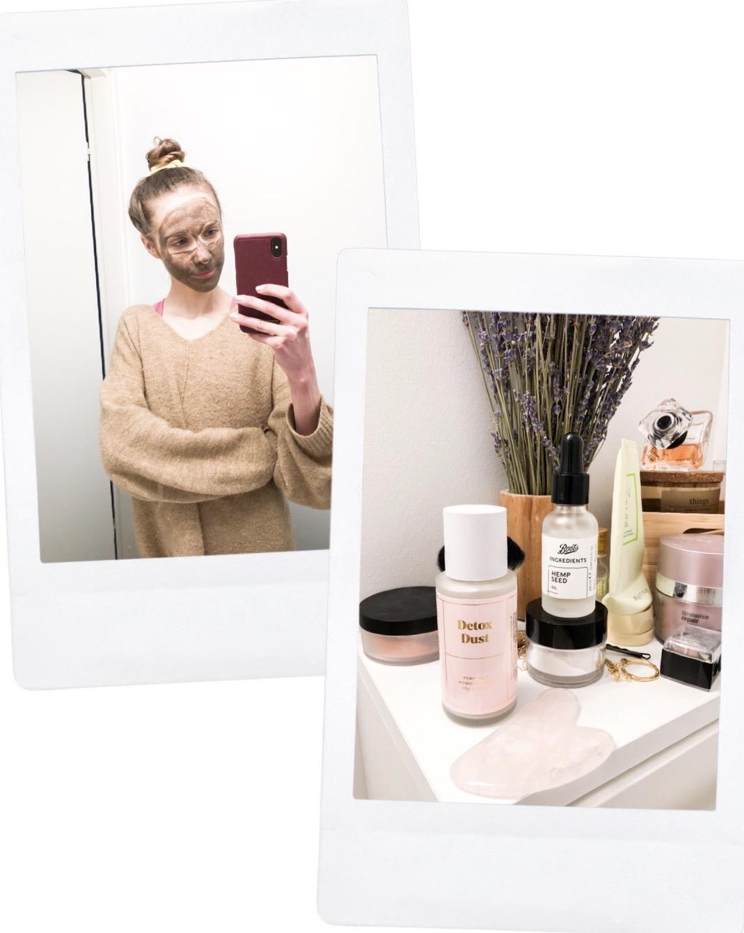 Home facial, skincare - Kotikasvohoito, ihonhoito