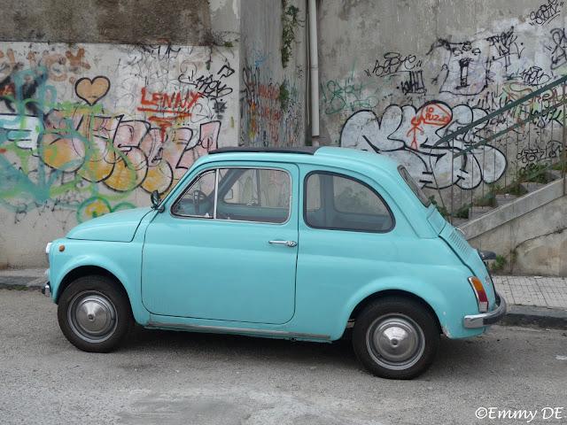 Original Fiat 500 Messina ~ Sicily ~ Italy by ©Emmy DE