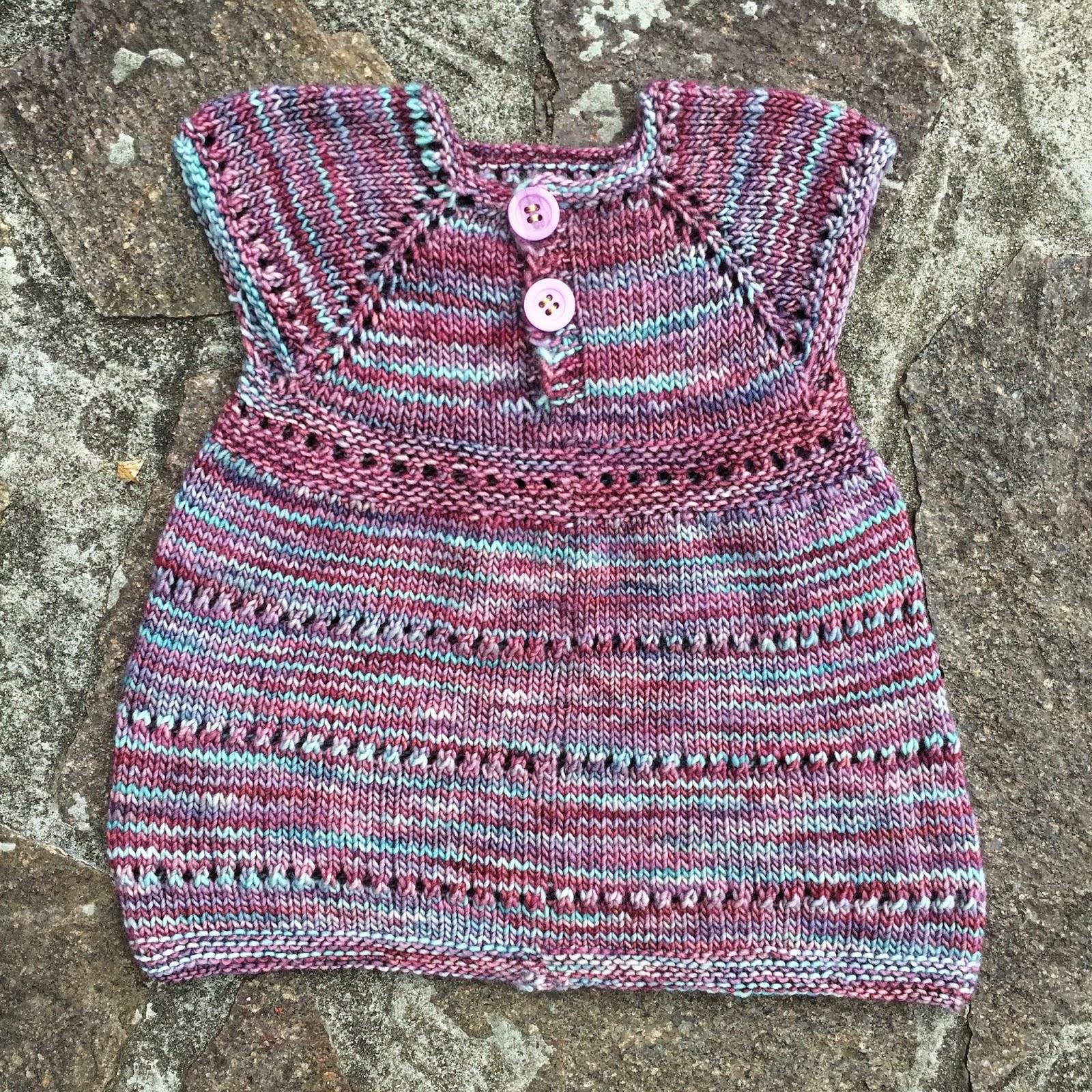 Babykleidchen stricken für Anfänger