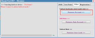 Bypass/Remove Akun Micloud Via Fastboot