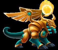 imagen del dragon ra de dragon city