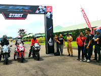 Honda Jateng Gelar All New CBR 250 RR Track Day
