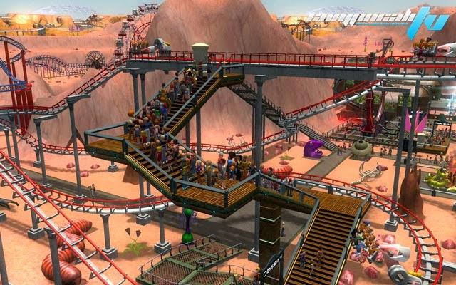 Roller Coaster Tycoon 3 Platinum PC Full Español