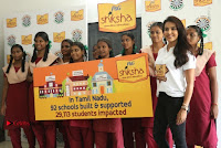 Actress Priya Anand with the Students of Shiksha Movement Event .COM 0020.jpg