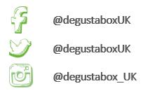 Degustabox social media channels